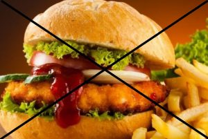 Жирная еда под запретом