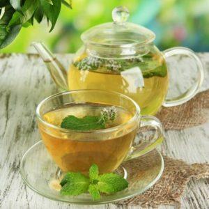 В диете должен присутствовать травяной чай