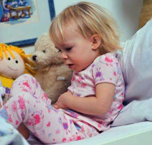 Боль при гастроэнтерите у ребенка