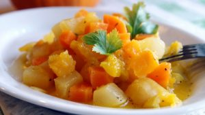 Тушеные овощи можно приготовить на обед